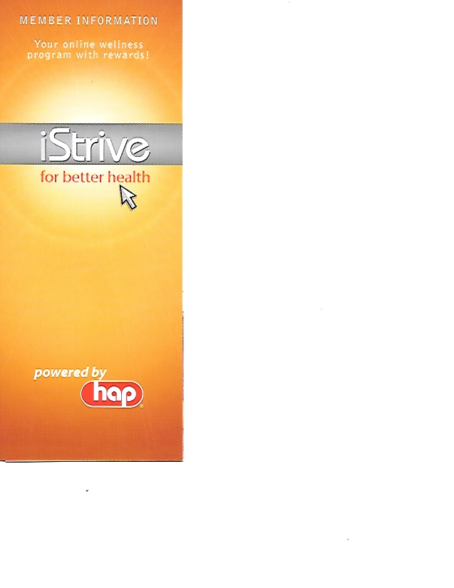 iStrive for Better Health at Health Alliance Plan