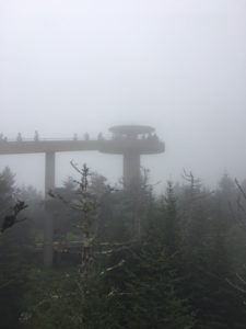 Great Smoky Mountains Clingmans Dome