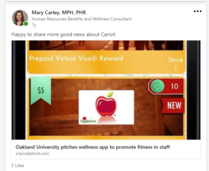 Gamification, Gamification of Wellness, Carley Creative Concepts, Carley Creative Concepts