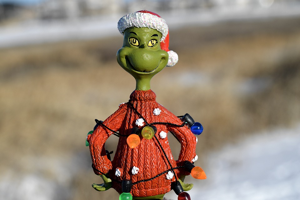 Grinch, 4 Reasons You Want To Be The Corporate Grinch This Year, Carley Creative Concepts