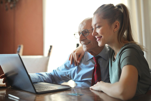 Care for Aging Parents, 4 Ways to Care for Aging Parents While Working Full-Time, Carley Creative Concepts
